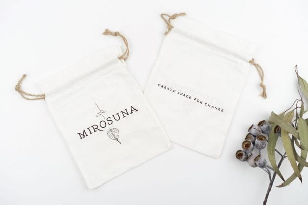 Mirosuna Cotton Drawstring Gift bags